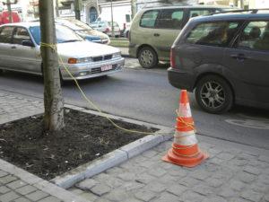 Anti Parking Pilon