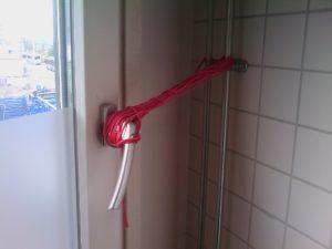 Window string