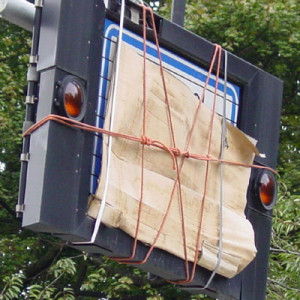 Carboard + rope