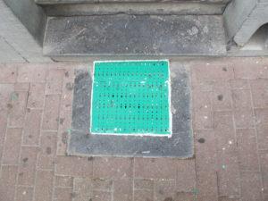 Square basement cover