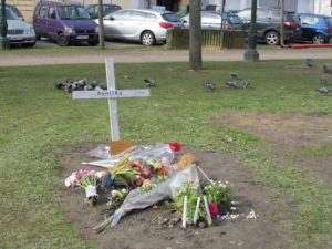 City park grave