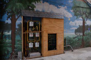 Utility shack