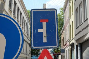 One way, added street