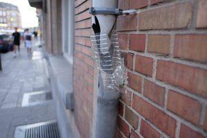 Rain pipe repair